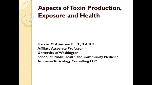 Aspects of Toxin Production